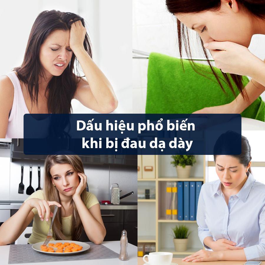 Dấu hiệu bệnh đau dạ dày