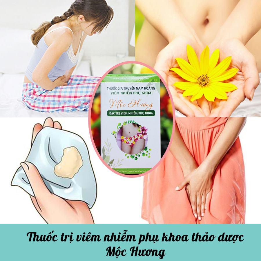 Thuốc trị viêm nhiễm phụ khoa thảo dược Mộc Hương