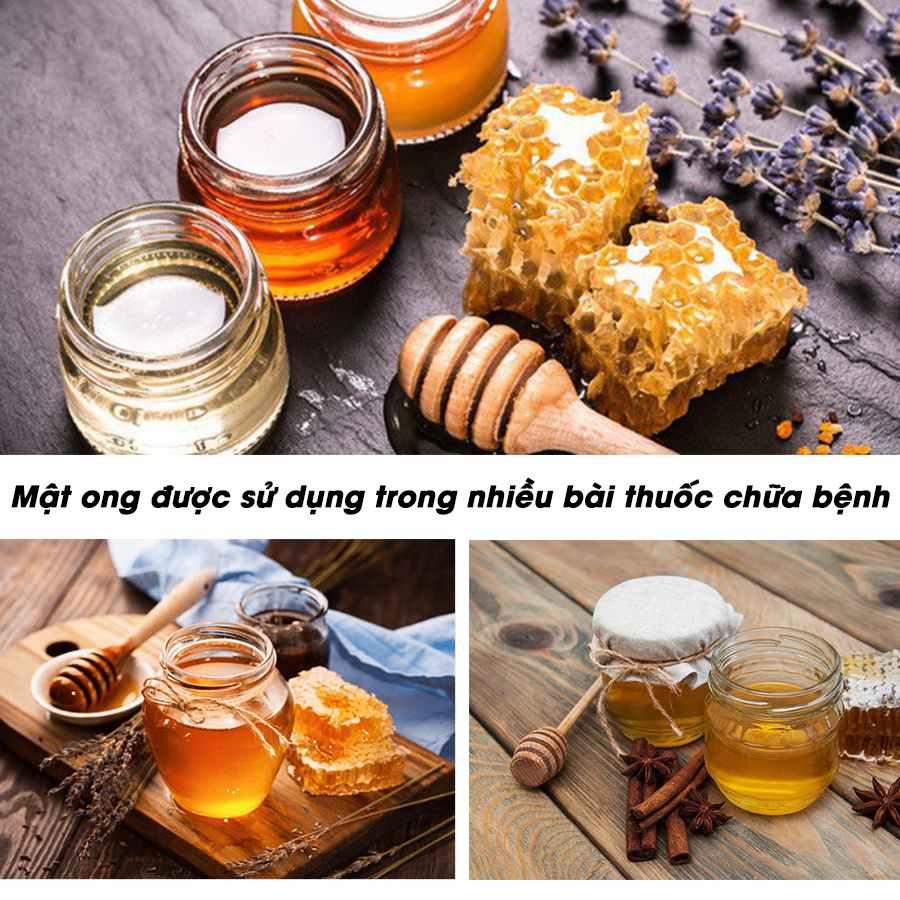 Mật ong dùng trong nhiều bài thuốc chữa bệnh