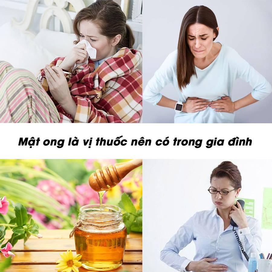 Mật ong là vị thuốc nên có trong gia đình