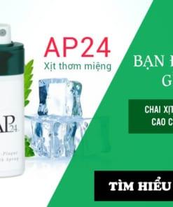 Chai Xịt Thơm Miệng AP24 Nuskin cao cấp của Mỹ
