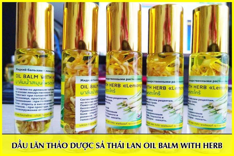Dầu lăn thảo dược hương sả Thái Lan