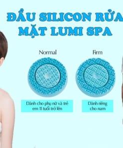 Đầu silicon máy rửa mặt Lumi Spa