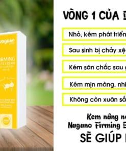 Kem nở ngực của Nhật Nagano Firming Bust Cream dành cho ai