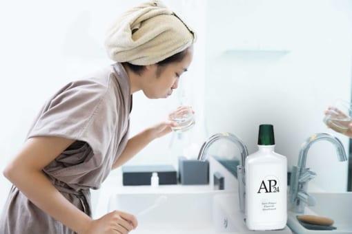 Nước súc miệng AP24 ngăn ngừa mảng bám