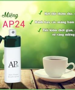 Tác dụng chai xịt miệng ap24 của mỹ nuskin