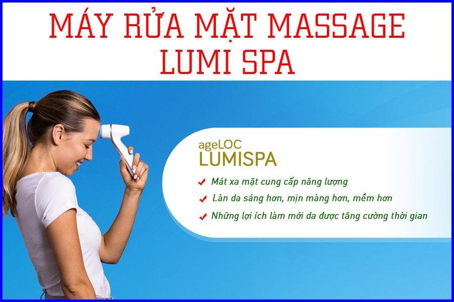 Tác dụng máy rửa mặt Ageloc LumiSpa