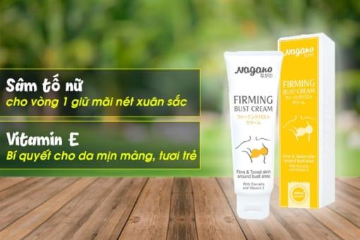 Thành phần kem nở ngực của Nhật Nagano Firming Bust Cream