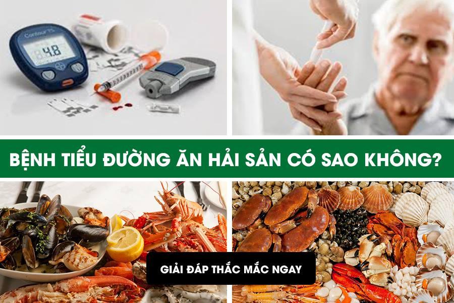 Bệnh tiểu đường ăn hải sản được không