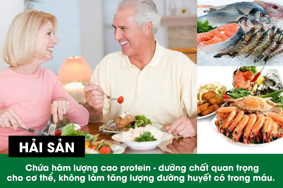 Bệnh tiểu đường ăn hải sản không làm tăng đường huyết