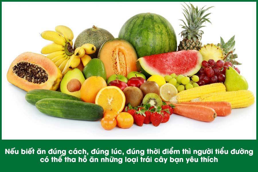 Bệnh tiểu đường ăn trái cây có tốt không