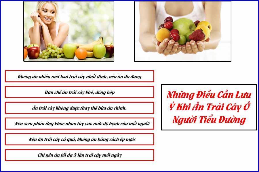 Bệnh tiểu đường ăn trái cây cần lưu ý gì