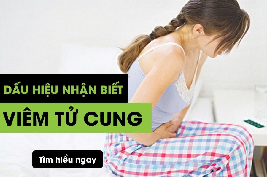 Dấu hiệu viêm tử cung