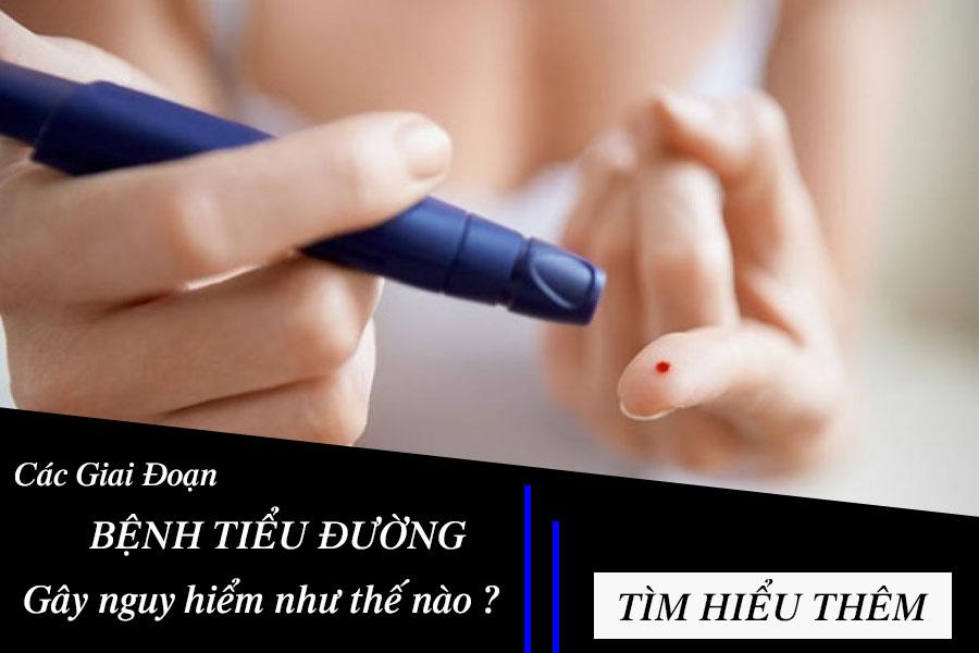 Tìm hiểu các giai đoạn bệnh tiểu đường
