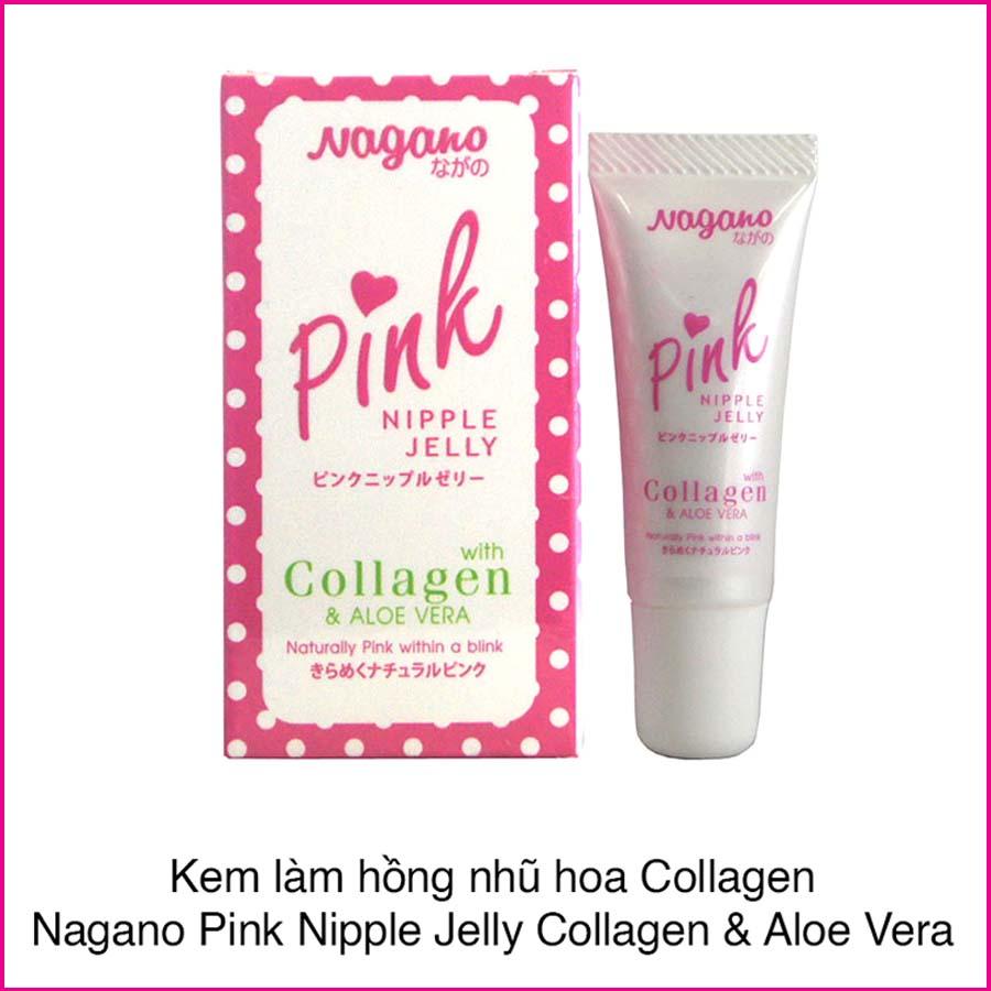 Kem làm hồng nhũ hoa pink nagano