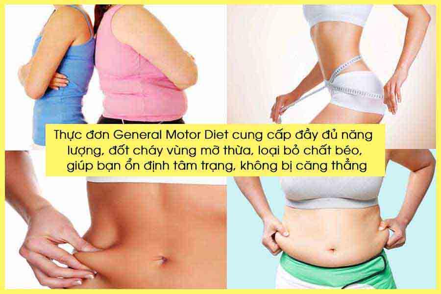 Thực đơn General Motor Diet