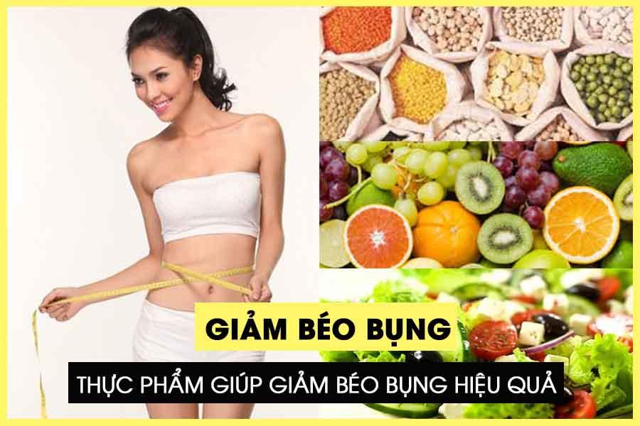 Thực phẩm giúp giảm béo bụng