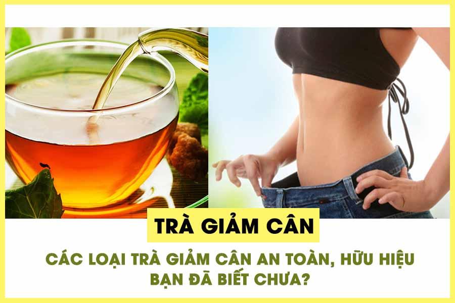 Top 5 trà giảm cân