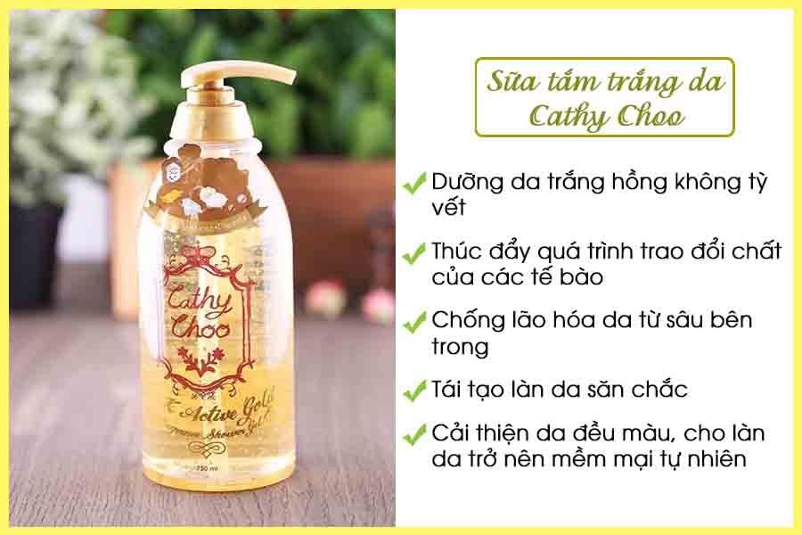Sữa tắm trắng da toàn thân Cathy Choo