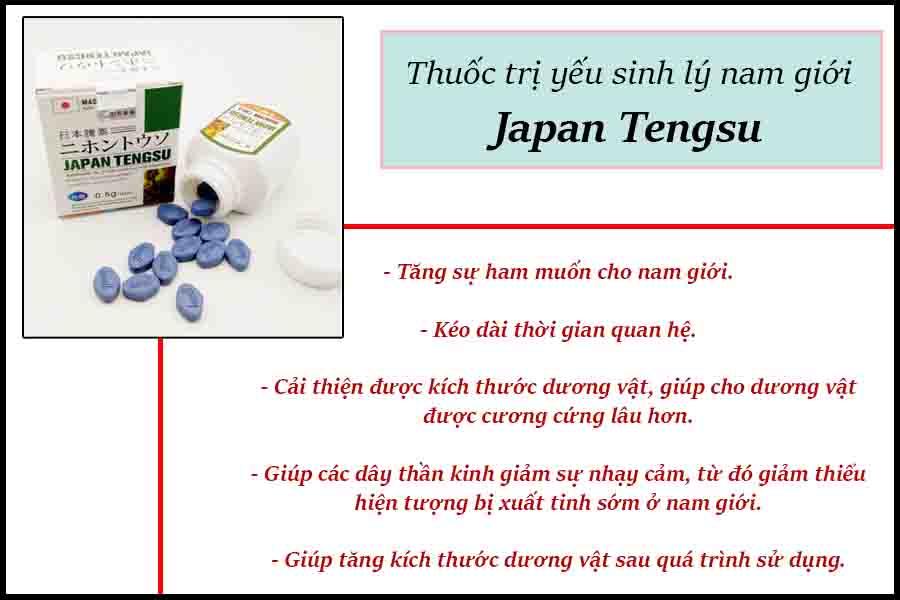 Thuốc trị yếu sinh lý Japan Tengsu