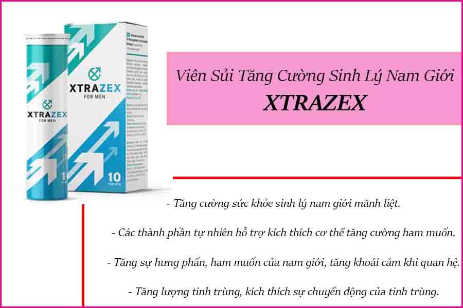Viên sủi tăng cường sinh lý xtrazex