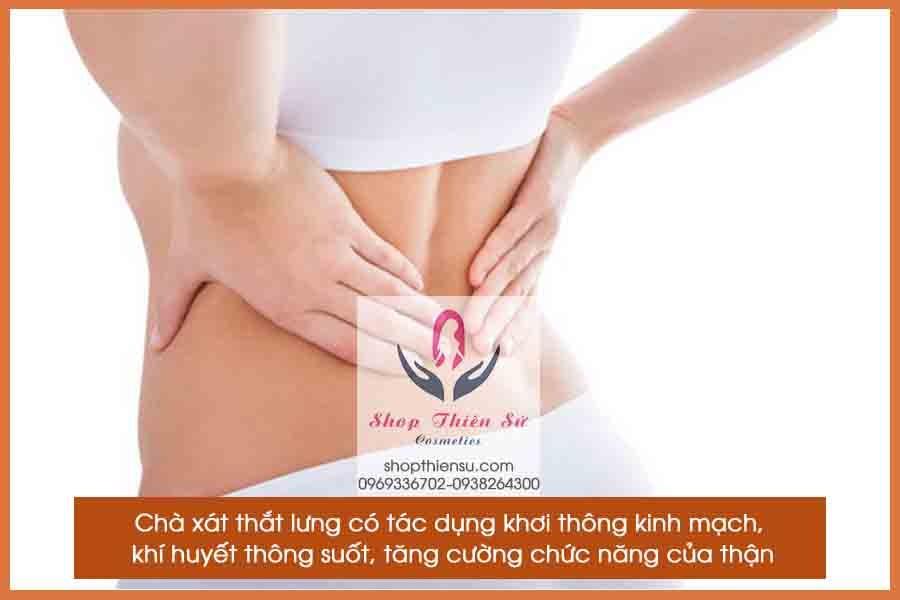 Bấm huyệt chữa bệnh thận chà xát thắt lưng