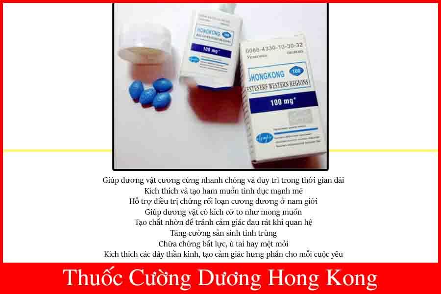 Thuốc cường dương Hong Kong