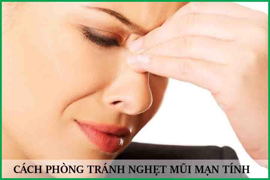 Cách phòng tránh nghẹt mũi mãn tính
