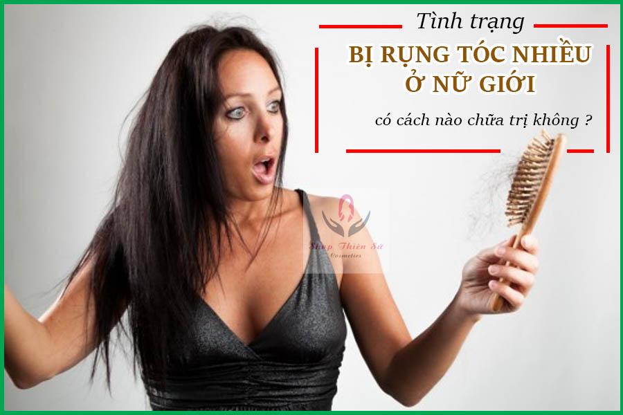 Bị rụng tóc nhiều ở nữ giới