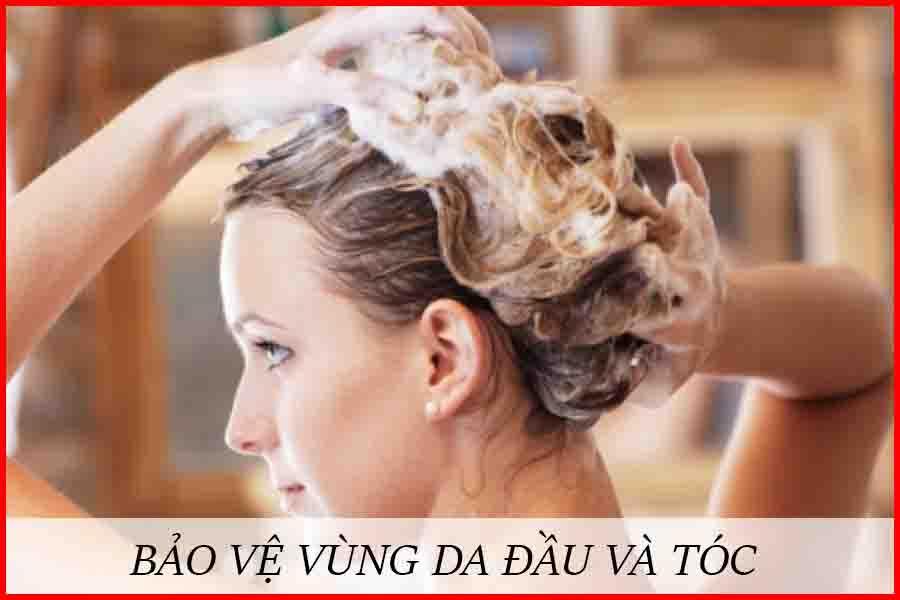 Cách bảo vệ đầu và tóc