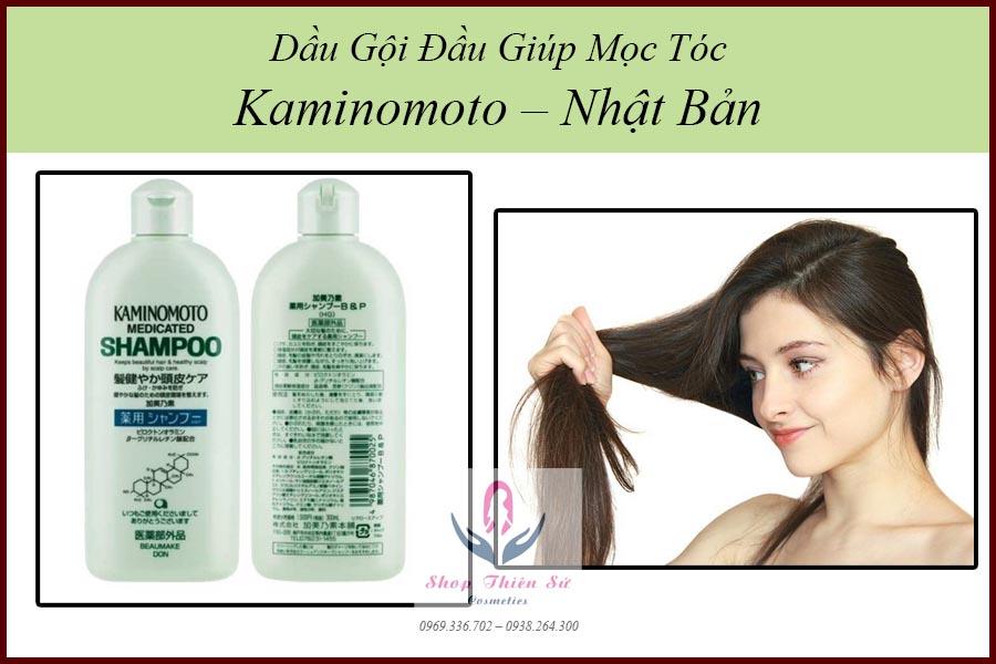 Dầu gội giúp mọc tóc Kaminomoto