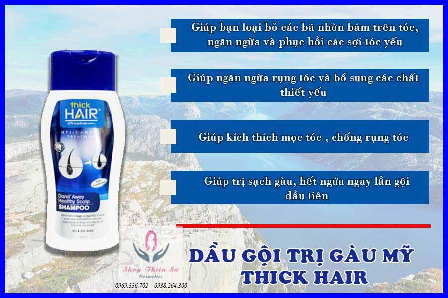 Dầu gội giúp mọc tóc Thick Hair