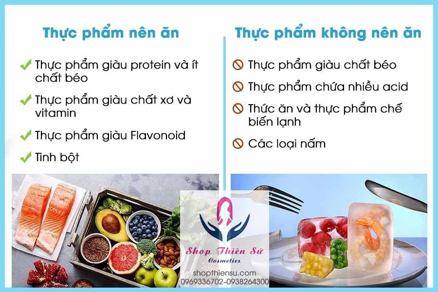Chế độ ăn uống viêm phù nề hang vị dạ dày