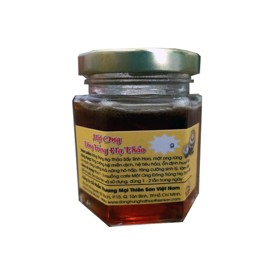 Mật ong đông trùng hạ thảo Thiên Sơn