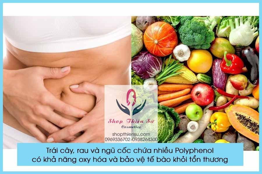 Người viêm loét dạ dày nên ăn trái cây, rau và ngũ cốc