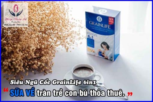 Siêu ngũ cốc lợi sữa Grainlife