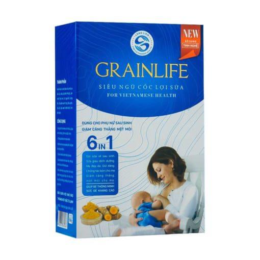 Siêu ngũ cốc lợi sữa Grainlife 6in1