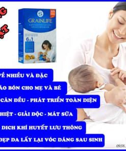 Tác dụng siêu ngũ cốc lợi sữa Granlife