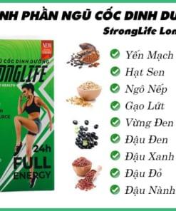 Thành phần ngũ cốc dinh dưỡng Long Liên