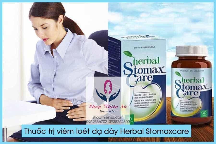Thuốc điều trị viêm loét dạ dày Herbal Stomaxcate