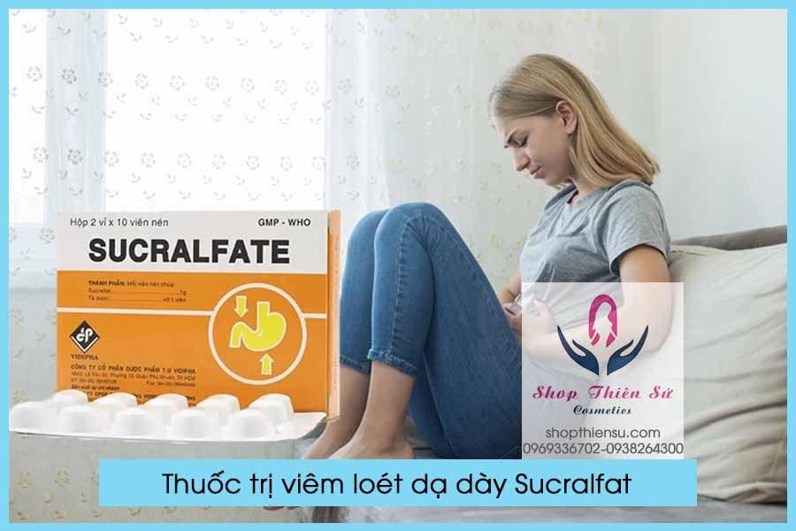 Thuốc điều trị viêm loét dạ dày Sucralfat