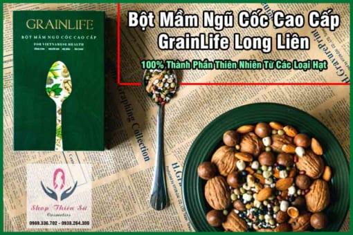 Thành phần bột ngũ cốc cao cấp Long Liên