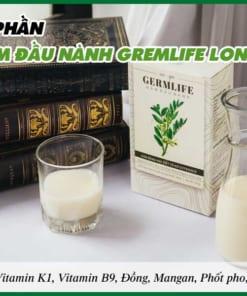 Thành phần của bột mầm đậu nành GremLife
