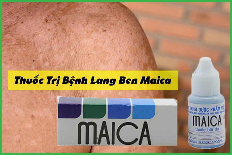 Thuốc trị bệnh lang ben Maica