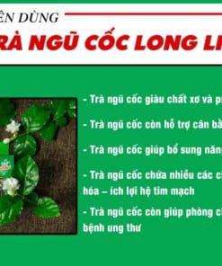 Vì sao nên dùng trà ngũ cốc Long Liên