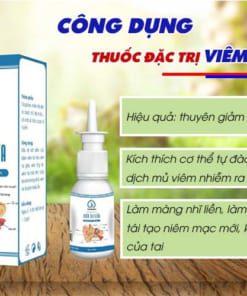 Công dụng thuốc trị viêm tai giữa Nam Hoàng
