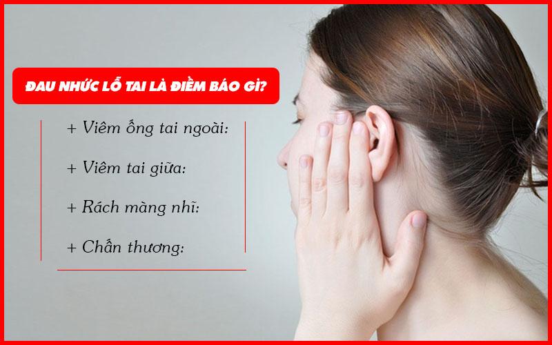 Đau nhức lỗ tai là dấu hiệu bệnh gì