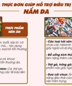 Nên ăn và kiêng ăn gì khi bị Nấm da