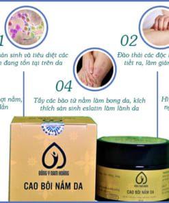 Tác động thuốc cao bôi Nam Hoàng