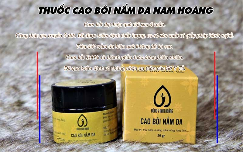 Vì sao nên dùng thuốc cao bôi Nam Hoàng